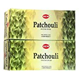Hem Patchouli Agarbatti Pack of 12 Incense Sticks...