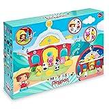 Pinypon - My First, Granja Día y Noche, pequeño Granero de Juguete con Sonidos, Animales de Granja, un muñeco Granjero y Diferentes Accesorios de Juego, para niños Desde 12 Meses, Famosa (700016303)