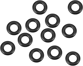 uxcell O-Rings Nitrile Rubber, 5mm Inner Diameter, 9mm OD, 2mm Width, Round Seal Gasket Pack of 12