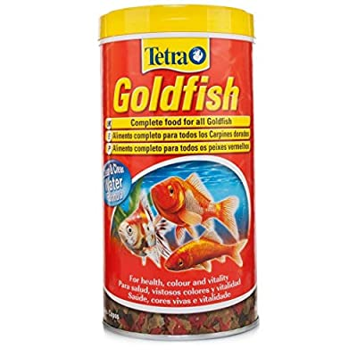 Tetra Goldfish Flakes Fish Food, Complete Fish Food for All Goldfish, 85 ml