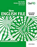 New English File Intermediate. Workbook with Key and Multi-ROM Pack: Six-level general English course for adults: Workbook with Answer Booklet and MultiROM Pack (New English File Second Edition)