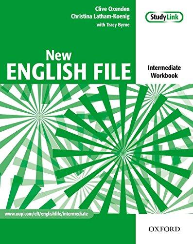New english file. Intermediate. Workbook. With key. Per le Scuole superiori. Con Multi-ROM: Six-level general English course for adults