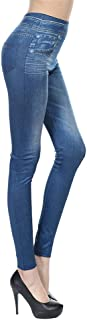 BOLANA Pantalones de Mezclilla Mujer, Ajustados, Cintura Alta, Ajustados