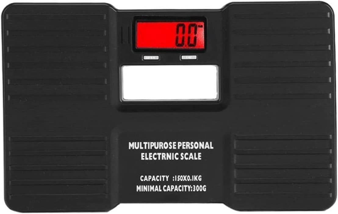 Wangchngqingc Balanza Peso Corporal, LCD Escala Personal Digital ON/Tare FUNCIÓN Cuerpo Peso electrónico Bascula Digital Peso Corporal Piso Scales de baño Anti-caída