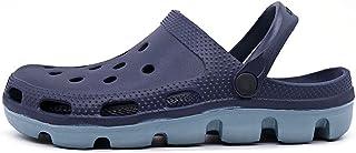 Men'Clogs Summer Breathable Slippers Beach Garden Clog Sandals Shower Footwear Water Shoes Walking Anti-Slip Shoes