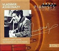 Great Pianists of the 20th Century: Vladimir Ashkenazy by Valdimir Ashkenazy (1999-03-09)