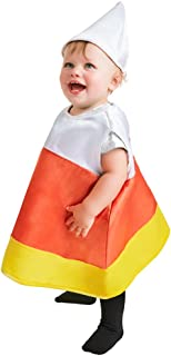Baby Candy Corn Halloween Costume (Size: 6-12M) Orange