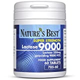 Nature's Best Lactase 9000 FCC Enzyme Units | Fast Acting Natural Enzyme Tablets and 100% UK- Made