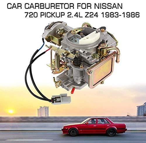 ALAVENTE Car Carburetor for 720 Pickup 2.4L Z24 Engine 1983 1984 1985 1986, Carburetor Carb for Z24 (OE No.: 16010-21G61)