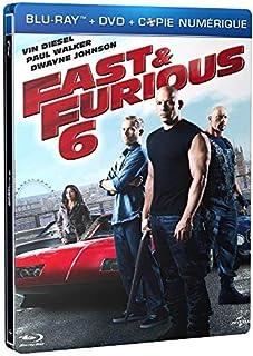 Fast & Furious 6 [Combo Blu-Ray + DVD + Copie Digitale-Édition boîtier SteelBook] (B00CXLKI4C)   Amazon price tracker / tracking, Amazon price history charts, Amazon price watches, Amazon price drop alerts