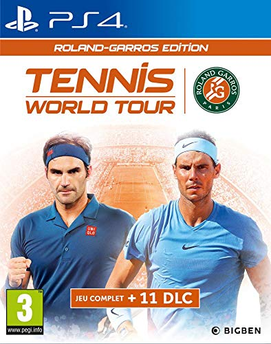 Tennis World Tour Roland Garros PS4-Spiel