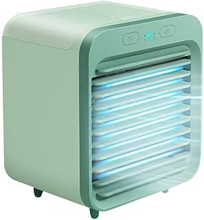 Ventilador portátil de aire acondicionado refrigerado por agua, aire acondicionado recargable refrigerado por agua Ventilador de enfriamiento de escritorio Refrigerador de aire para el hogar de verano