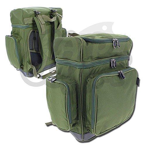 NGT Karpfen XPR Multi Fach Rucksack Tackle Bag Wasserdichte