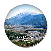 セントヘレンズ山ワシントン米国冷蔵庫マグネットホワイトボードマグネットオフィスキッチンデコレーション