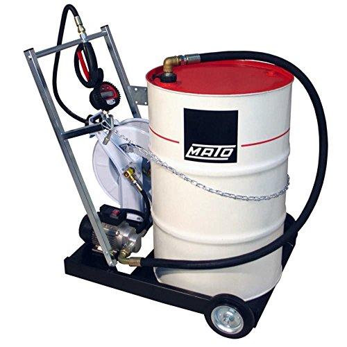 Sistema de bomba de engranaje eléctrico EP200-F móvil para 200 litros de...