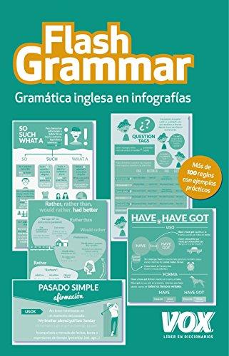 Flash Grammar: Gramática inglesa en infografías (VOX - Len