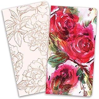 Paper House Life Org Journey Bk Insert Roses Red