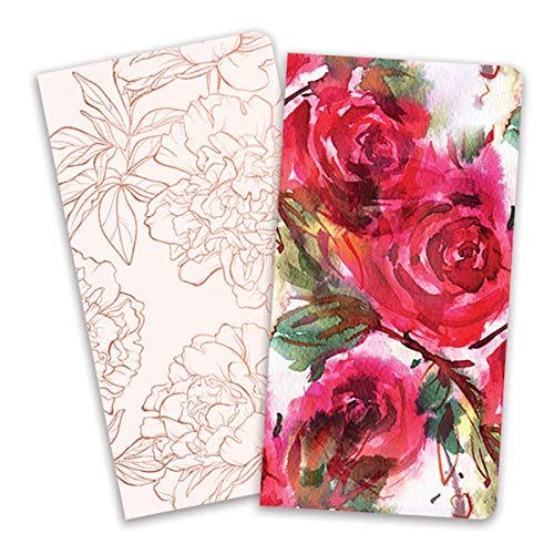 Paper House Productions Reisebucheinlagen für Reisebuch in Standardgröße Rote Rosen