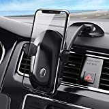 Phone Holder for Car, Dashboard Car Phone Holder Car Phone Mount WELTEAYO Windshield Air Vent Long Arm Strong Suction iPhone Xs,XS MAX,XR,X,8,8Plus,7,7Plus,6,6Plus, Galaxy Google and All Smartphones