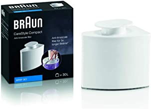 Braun BRSF 001 Anti-Limescale Filter - Compatible with Braun CareStyle Compact Steam Iron Stations