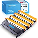 Mycartridge Tóner Compatible para Samsung CLT-P404C para Samsung Xpress c480fw c480w C480 C480FN C430 C430W(Negro,Cian,Magenta,Giallo)