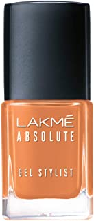 Lakmé Absolute Gel Stylist Nail Color, Peach Sorbet, 12 ml