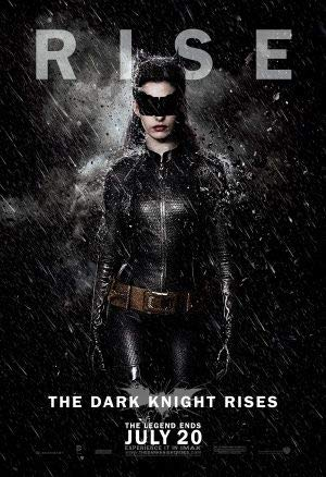 The Dark Knight Rises – Catwoman - US Imported Movie Wall Poster Print - 30CM X 43CM Batman
