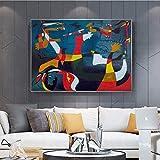 RTCKF Leinwand Abstrakte Berühmte Gemälde Weltgeburt Leinwand Wand Künstler Home A1 30x40cm