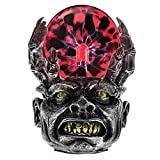 Aibote Magic Skull Head Glass Lightning Plasma Ball Touch Sensitive Night Light Lamp Novelty Toy for Parties,Decorations,Kids,Bedroom,Home,and Gifts (Skull Head-H)