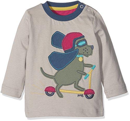Kite Scooting Hound t-Shirt Polo, Gris (Grey), 6-12 Mois Bébé garçon