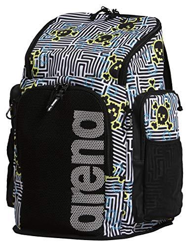 ARENA Team Backpack 45 Mochila, Adultos Unisex, Crazy Labyrinth (Multicolor), Talla Única
