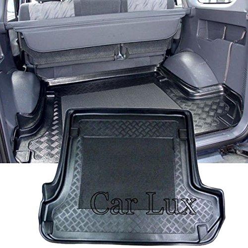 Car Lux AR02213 - Alfombra Bandeja Cubeta Protector Maletero para Land Cruiser 95