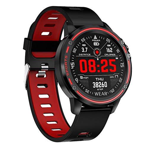 SmartWatch, Uhr mit 1.2 Zoll Touch Farbdisplay, Blutdruck Fitness Armbanduhr, IP68 wasserdichte Sportuhr mit Blutsauerstoff Monitor Schrittzähler Schlafmonitor, Stoppuhr für Damen Herren