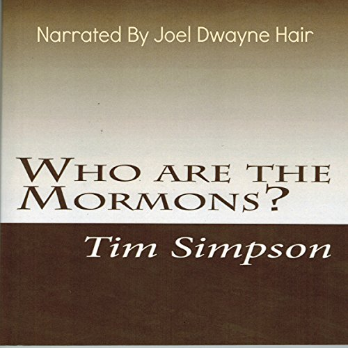 Who Are the Mormons? audiobook cover art