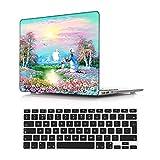 NEWCENT MacBook Pro 13' Funda,Plástico Ultra Delgado Ligero Cáscara Cubierta EU Teclado Cubierta para MacBook Pro 13 Pulgadas con Touch Bar Touch ID(Modelo:A1708/A1706/A1989/A2159),Paisaje A 79