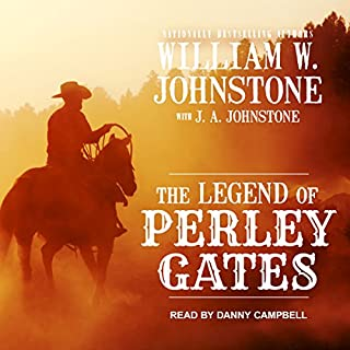 The Legend of Perley Gates audiobook cover art