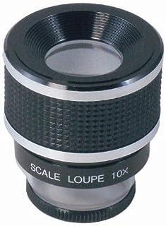 MIZAR(ミザールテック) ルーペ スケールルーペ 10倍 0.1mm目盛り RCS-8050