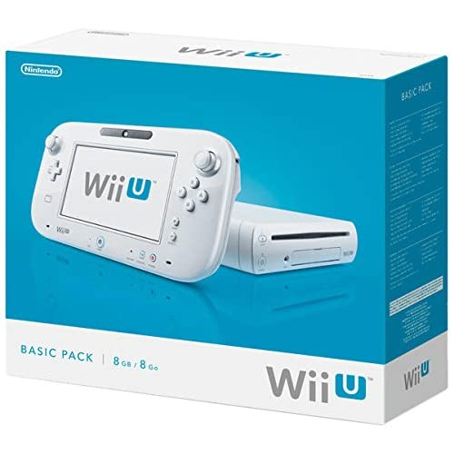 Nintendo Wii U - Konsole, Basic Pack, 8 GB, weiß - [Edizione: Germania]