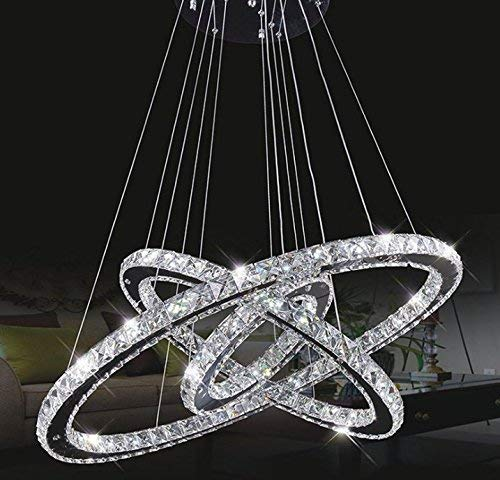 Lampadario in cristallo Tenlion Pading Spotlight 30Cm * 50Cm * 70Cm bianco neutro