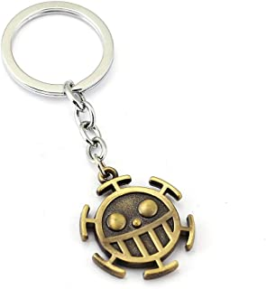 Keychains Keychain Trafalgar Law Key Ring Holder Gift Chaveiro Car Key Chain Pendant Anime Jewelry Souvenir Ys11541