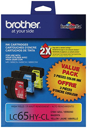 ZET Remanufactured Ink Cartridge Replacement for Brother LC12 LC40 LC71 LC73 LC75 LC79 Use in MFC-J6510DW MFC-J6710DW MFC-J6910DW MFC-J280W MFC-J425W 1 Black, 1 Cyan, 1 Magenta, 1 Yellow