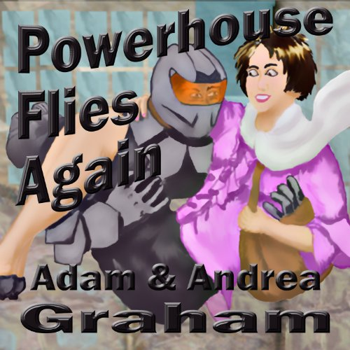 Powerhouse Flies Again audiobook cover art