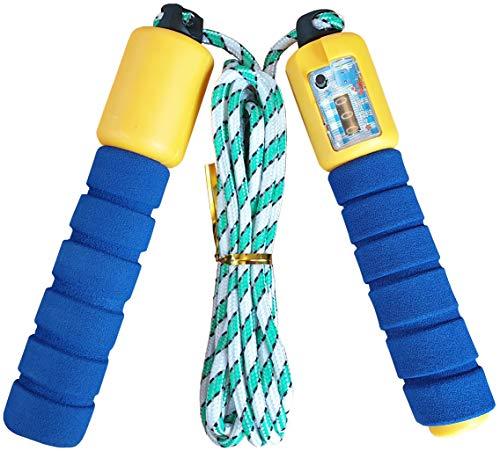 Springseil Kinder mit Zähler - viel Spaß für Kinder und Erwachsene | Jump Rope | Skipping Rope | Jumping Rope | Damen Fitness Herren | Hüpfseil Springschnur Crossrope Sport Mädchen Jungen