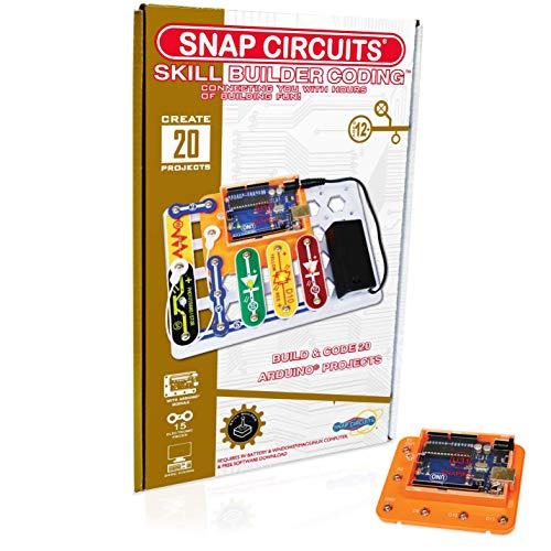 Snap Circuits Skill Builder: Coding  Making Coding a Snap | Arduino Compatible | Perfect Introduction to Arduino Coding | Great Stem Product