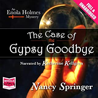 The Case of the Gypsy Goodbye audiobook cover art