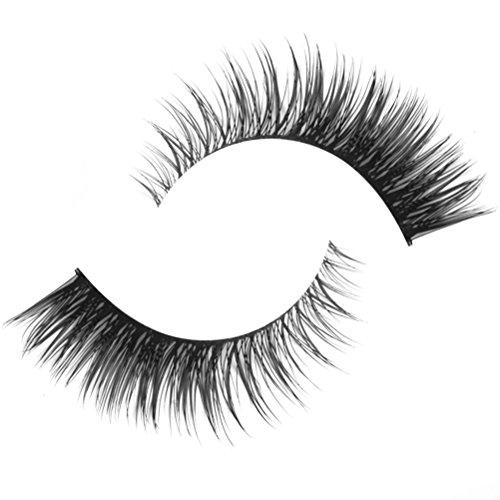 ROSENICE faux cils Noir faux cils naturel volumineux longue Maquillage Faux Cils Faux Cils-1 paire