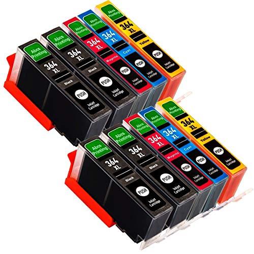 CTC Cartuccia d'inchiostro 364 XL compatibile con HP Photosmart 5510 5512 5515 5520 5522 6510 6520 6512 7510 7520 B110a B110c B010b B111a B109a 3070A 3520.4 Nero, 2 ciano, 2 magenta, 2 giallo