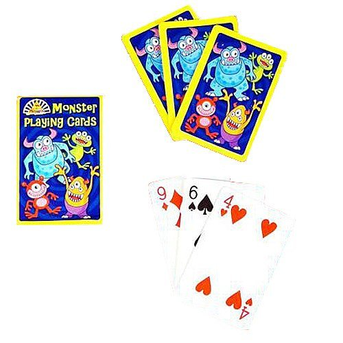 German Trendseller® - Monstre jeu de cartes┃Party