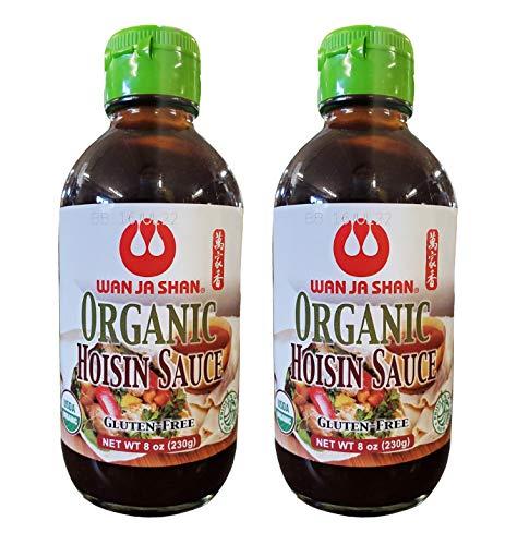 Wan Ja Shan Organic Hoisin Sauce (2 Pack, Total of 16oz)