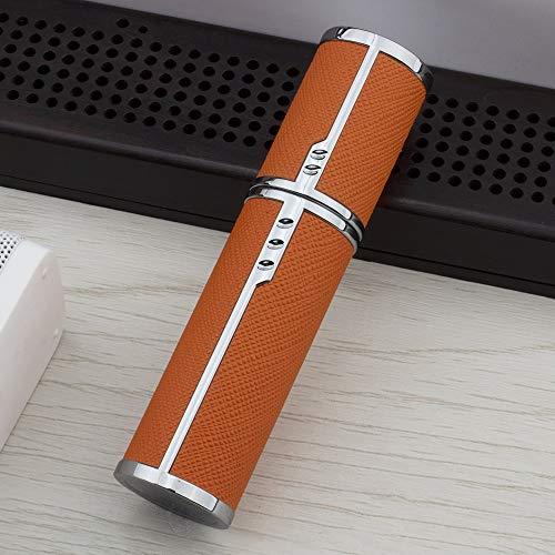 QHKS 5ml Répéter le remplissage parfum rechargeable portable mini bouteille vide de pulvérisation avec pompe de parfum et une bouteille atomiseur for